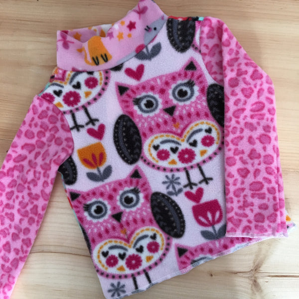Owl Sweater Size Small