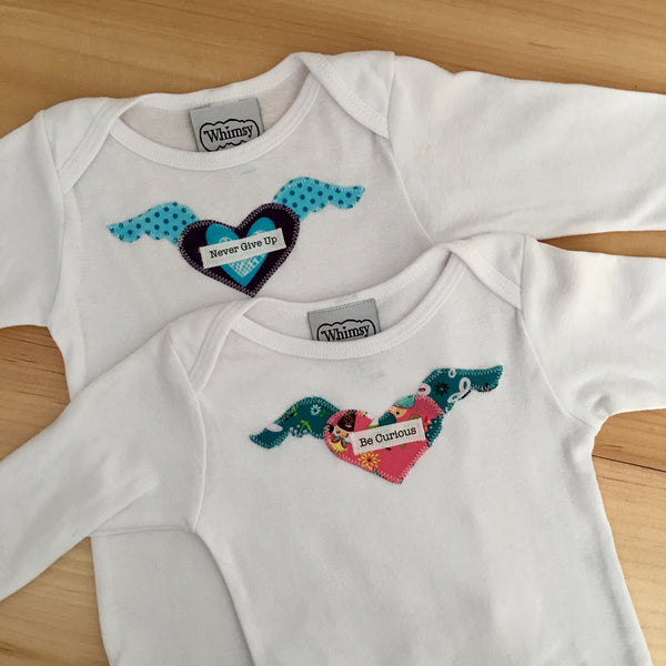 Soaring Heart One Piece Size 6-12mo