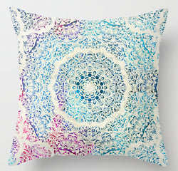 AlwayZen Pattern Yoga Pillow Cover