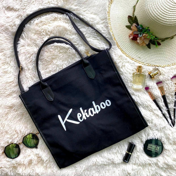 LIMITED EDITION KEKABOO TOTEBAG JADE BLACK