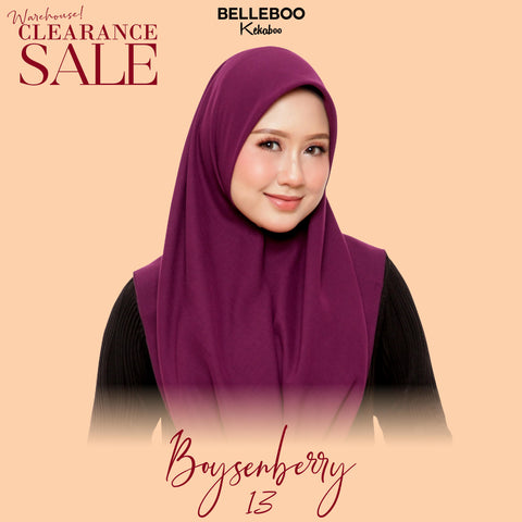 BELLEBOO (NO.13) BOYSENBERRY
