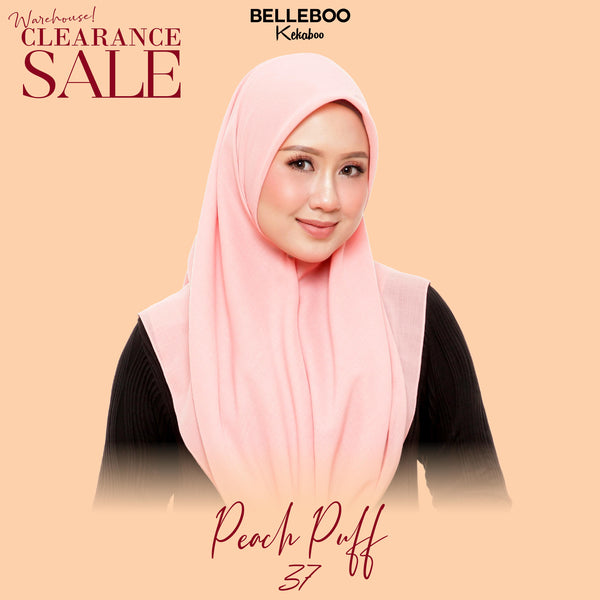 BELLEBOO (NO.37) PEACH PUFF