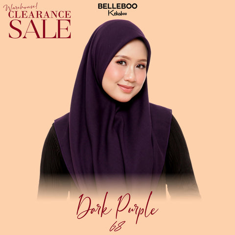 BELLEBOO (NO.68) DARK PURPLE