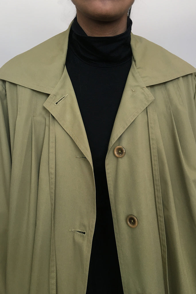 Vintage Trapeze Mac Raincoat