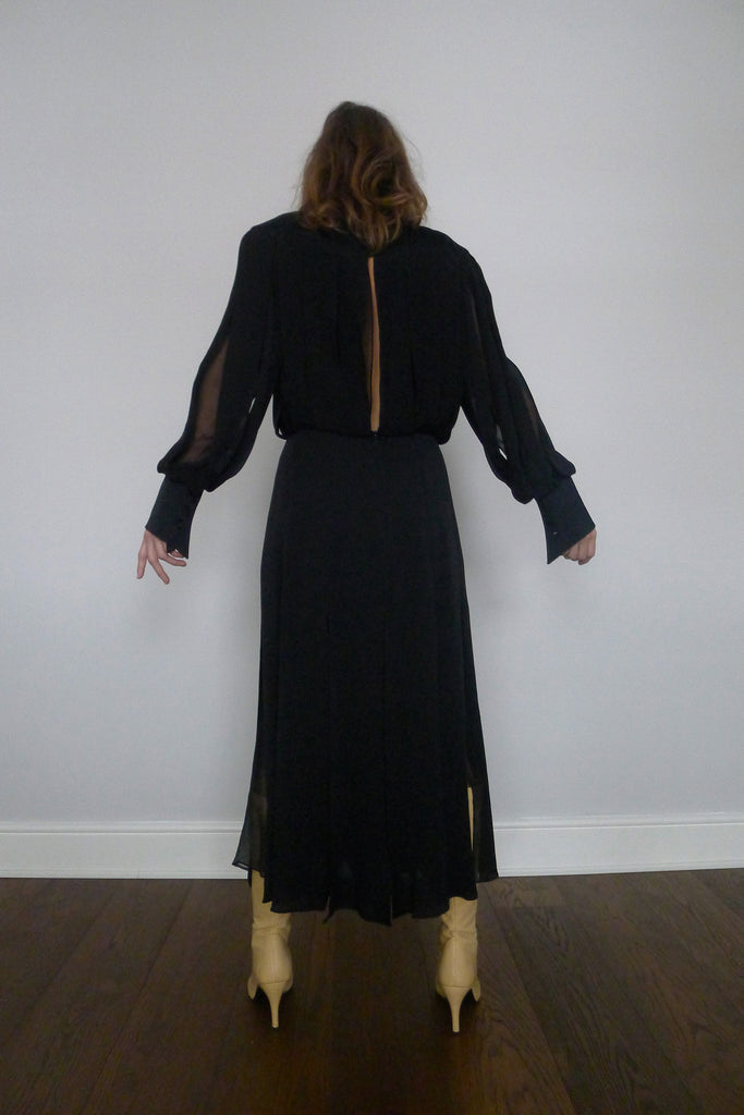 Vintage Louis Féraud Silk Dress