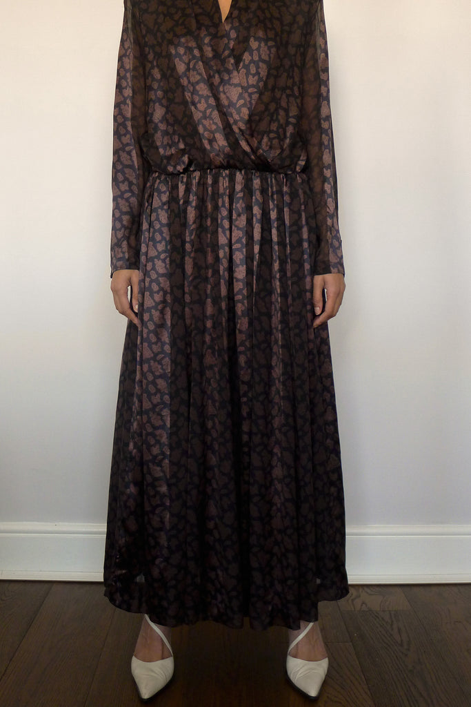 Louis Féraud Silk Maxi Dress