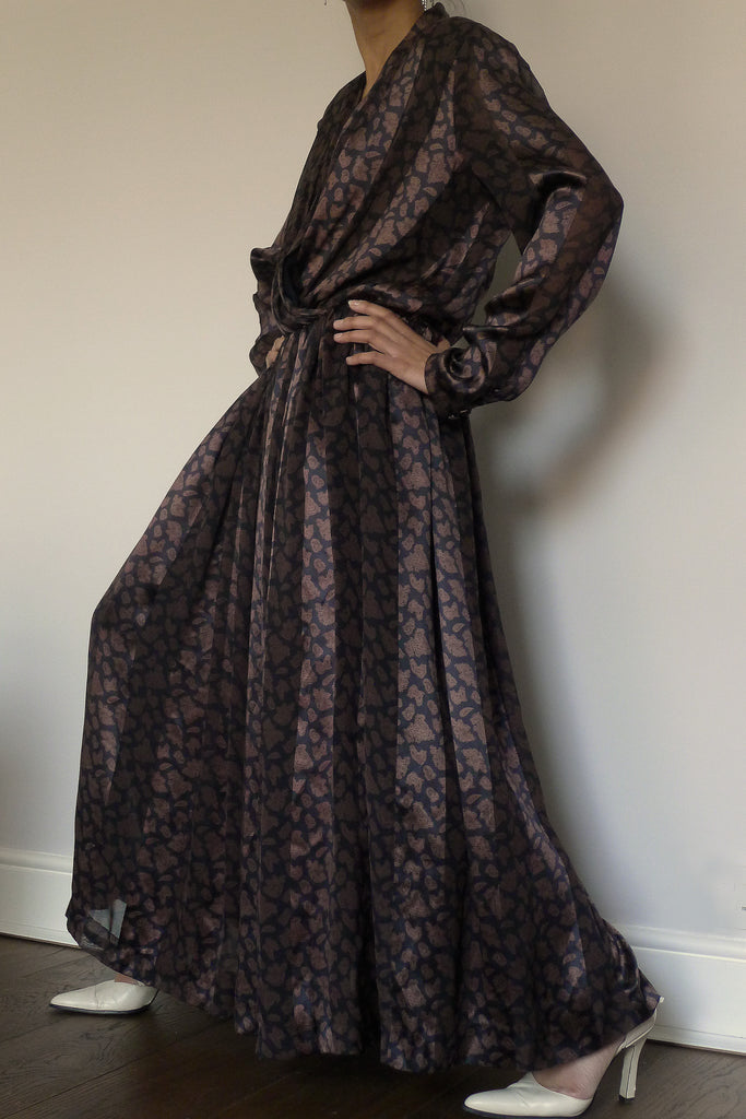 Louis Feraud Silk Maxi Dress