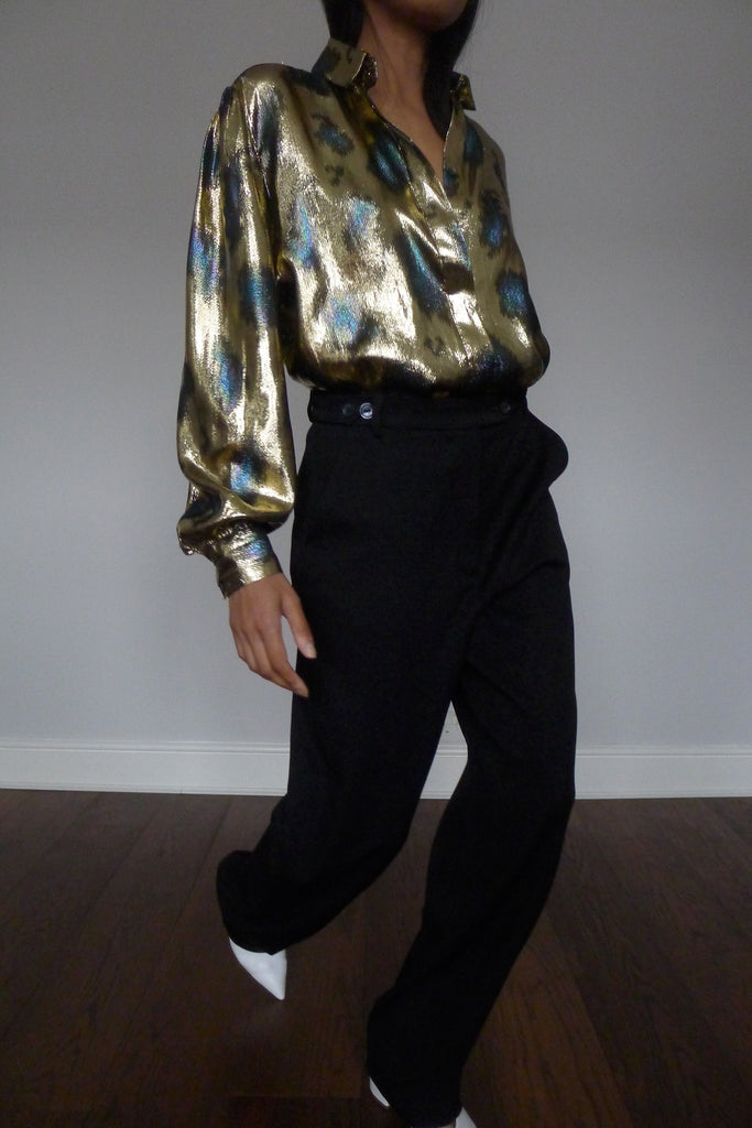 Vintage Metallic Shirt