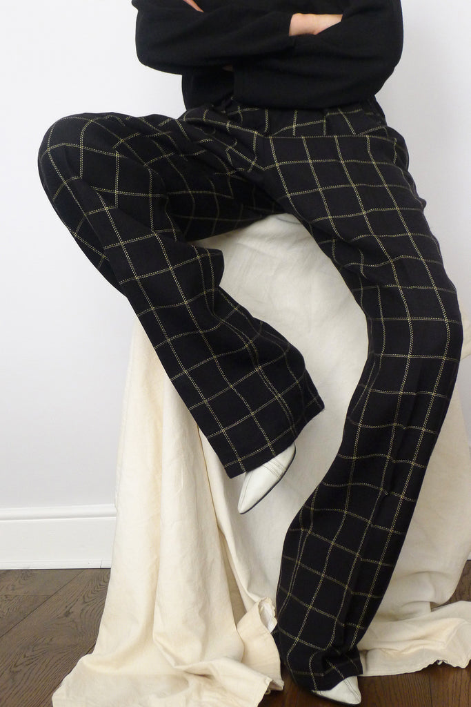 Mondi Check Trousers