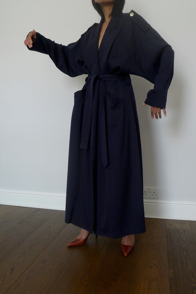 Vintage Charles Jourdan Robe Coat