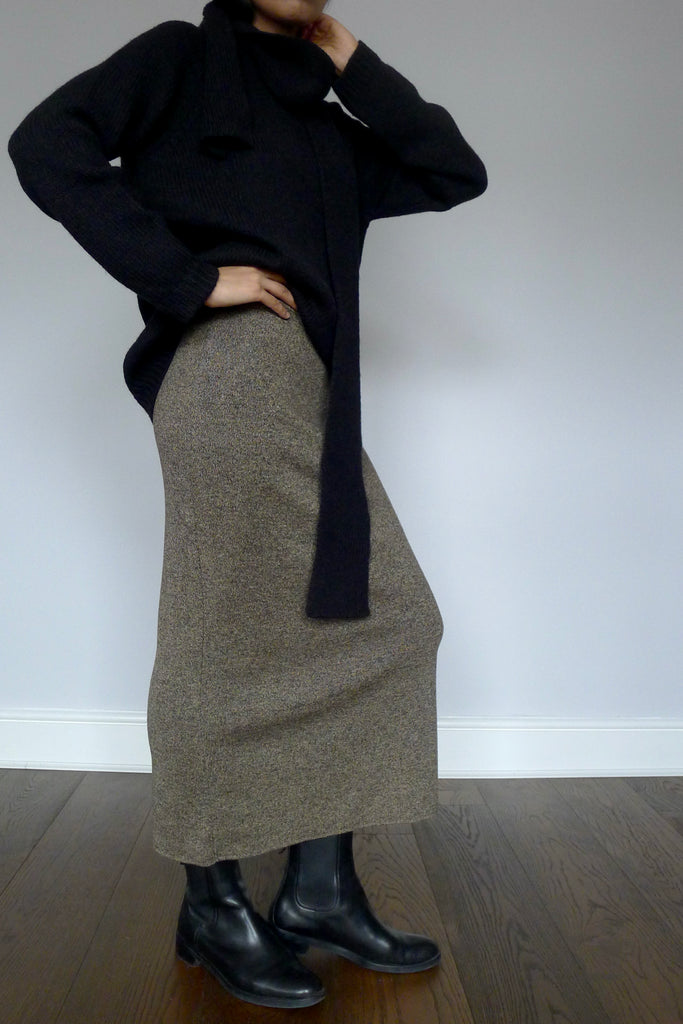 Vintage Betty Barclay Knit Skirt
