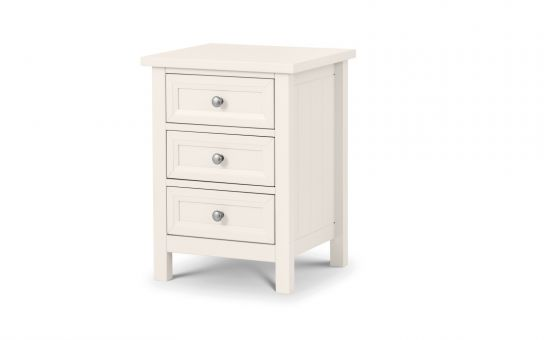 White wooden bedroom furniture | Surf furniture range - bedsmart