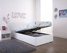 GFW end lift faux leather ottoman bed | three colour choices - bedsmart