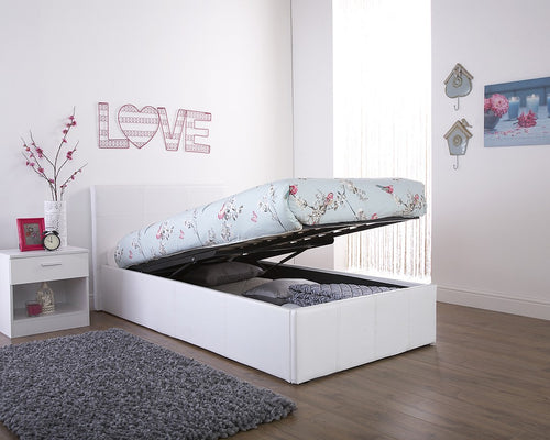 GFW end lift faux leather ottoman bed | three colour choices-bedsteads-bedsmart