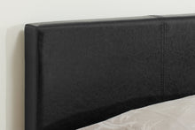 Small Double Black Berlin Ottoman Bed-ottoman beds-bedsmart
