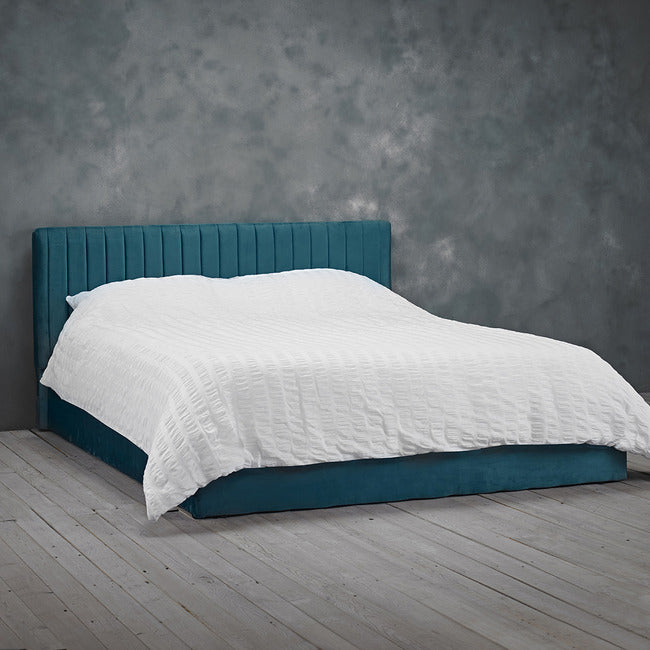 LPD Berlin Double Ottoman Bed in Teal-bedsteads-bedsmart