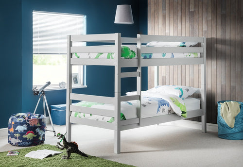 grey pine wooden bunks | dove grey twin sleeper bunk beds