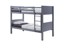 Grey wooden bunk beds | Bedsmart Utah bunk beds-bedsteads-bedsmart