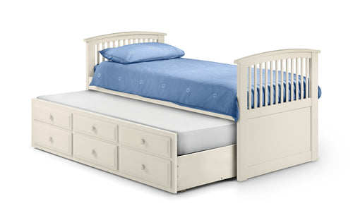 Hornblower Cabin Bed In White - bedsmart