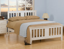 Kestrel white wooden bed frame by Sweet Dreams-bedsteads-bedsmart
