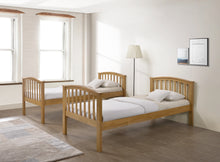 Oak wooden bunk beds - Artisan Oak bunk - bedsmart