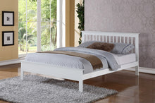 Pentre Oak wooden bed frame - Flintshire furniture