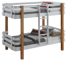 Grey wooden bunk beds | cool bunks by Sweet Dreams