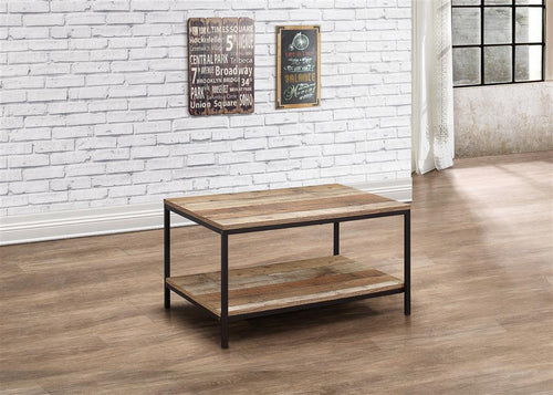 Rustic coffee table | Urban industrial furniture range-Furniture-bedsmart