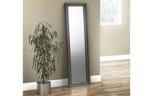 Pewter dress mirror | Bedsmart mirror collection-accessories-bedsmart