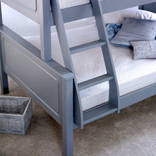 Ashley grey triple bunk bed-bedsteads-bedsmart