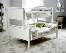 Ashley white triple bunk bed-bedsteads-bedsmart