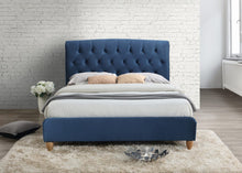 Midnight blue 4ft small double birlea bed frame - bedsmart