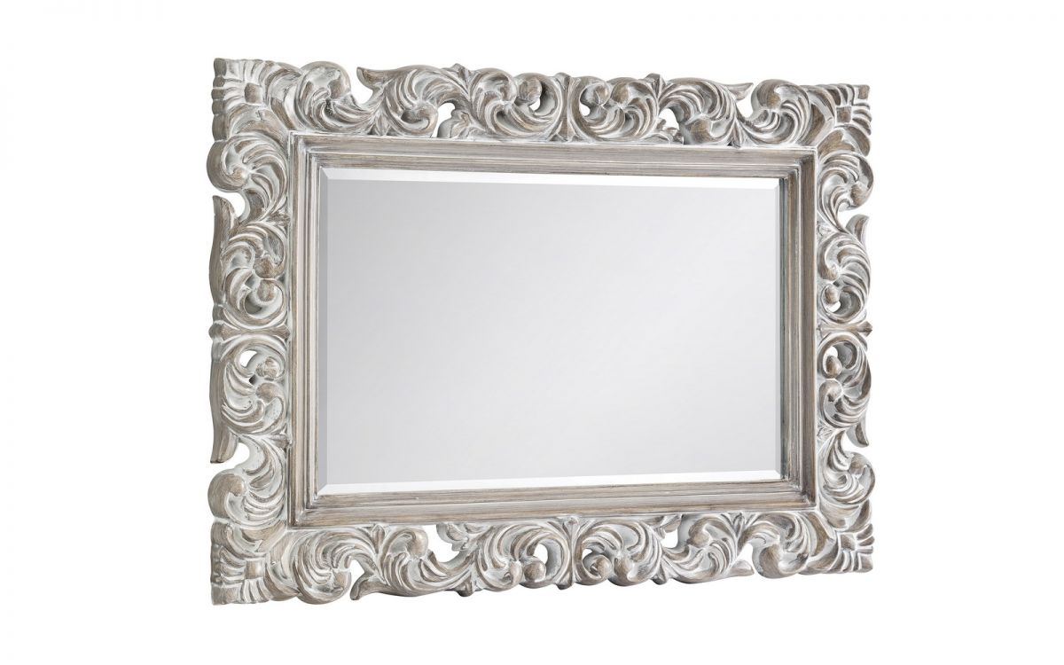 Distressed wall mirror | Baroque antique inspired mirror-accessories-bedsmart