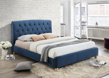 Midnight blue king size Birlea Brompton bed frame-bedsteads-bedsmart