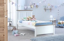 Chester kids single wooden bed frame with optional drawers - bedsmart