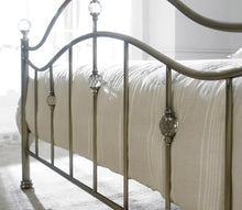 Brass metal bed frame - Signature cygnus metal bedstead