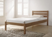 Eco white wooden bed frame - Flintshire furniture bed in a box - bedsmart