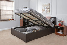 GFW end lift faux leather ottoman bed | three colour choices