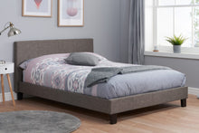 Grey fabric Birlea bed frame | single, small double, double and kingsize - bedsmart