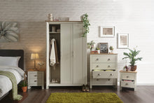 Cream and Oak bedroom furniture set | Lancaster 4 piece bedroom range-Furniture-bedsmart