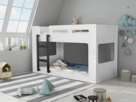 Artisan kids low height bunk bed-bedsteads-bedsmart