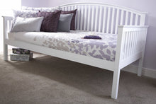 Madrid White Wooden Day Bed-bedsmart