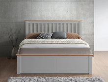 Miami grey wooden ottoman bed-bedsteads-bedsmart