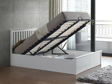 Miami white wooden ottoman bed-bedsteads-bedsmart