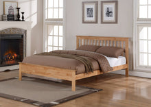 Pentre Oak wooden bed frame - Flintshire furniture-bedsteads-bedsmart