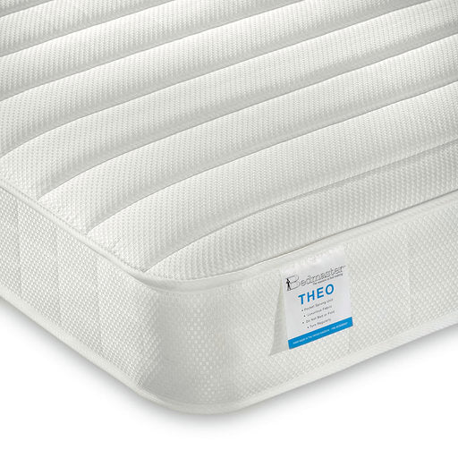 Bedsmart children's pocket sprung mattress | Theo low profile bunk bed mattress-Mattress-bedsmart