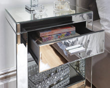 Stunning Venetian bedside table | Luxury mirrored bed side cabinet