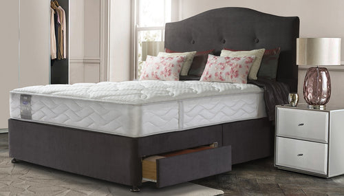 Sealy Pearl Wool Support Mattress | 4ft6 Double - bedsmart