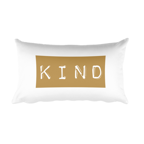 Kindness Mantra Pillow