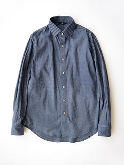 Indigo Yarn Dye Regular Shirt